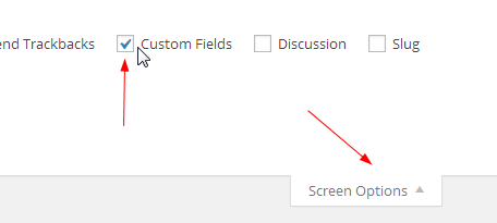 active custom fields to setting amazon custom thumbnail
