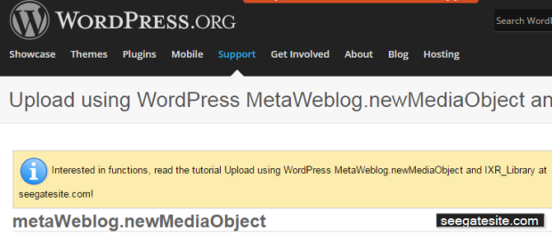 How to Upload using WordPress MetaWeblog.newMediaObject and IXR_Library