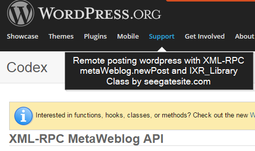 Remote posting wordpress with XML-RPC metaWeblog.newPost and IXR_Library Class