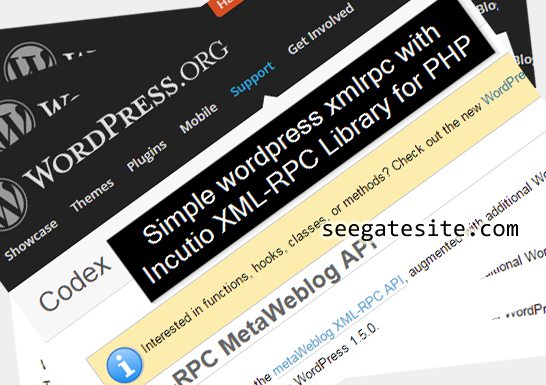 Simple wordpress xmlrpc with IXR_Library Class