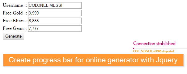 how to create free online generator