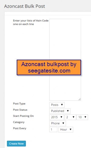 azoncast bulkpost for amazon affiliate store