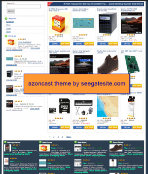 azoncast wordpress theme for amazon affiliate