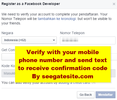 how to verify facebook app with free - Tutorial facebook sdk