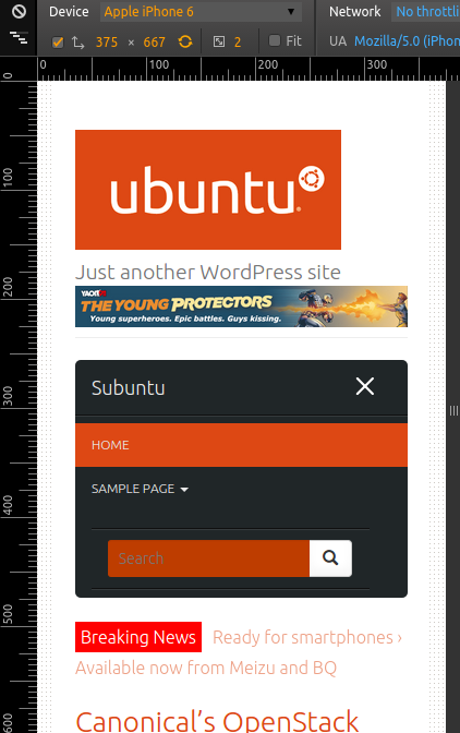 programming tutorial - subuntu theme screenshot 2