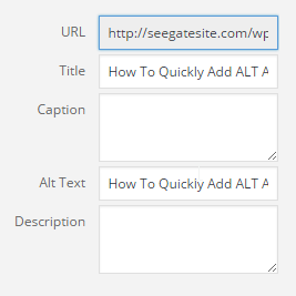 How To Quickly Add ALT And Title Attribute In WordPress Image Format Media Titles How To Use