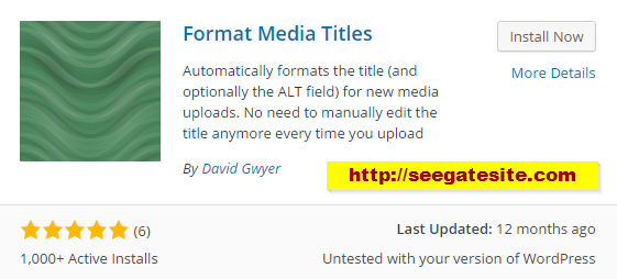 How To Quickly Add ALT And Title Attribute In WordPress Image Format Media Titles