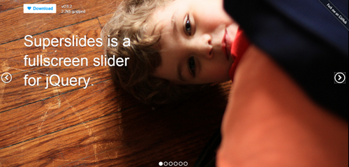 Superslides Is Free Jquery Plugin To Show Full Screen Slider