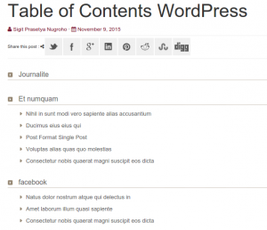 3 Steps Create Table Of Contents WordPress Using Ps Auto Sitemap Plugin