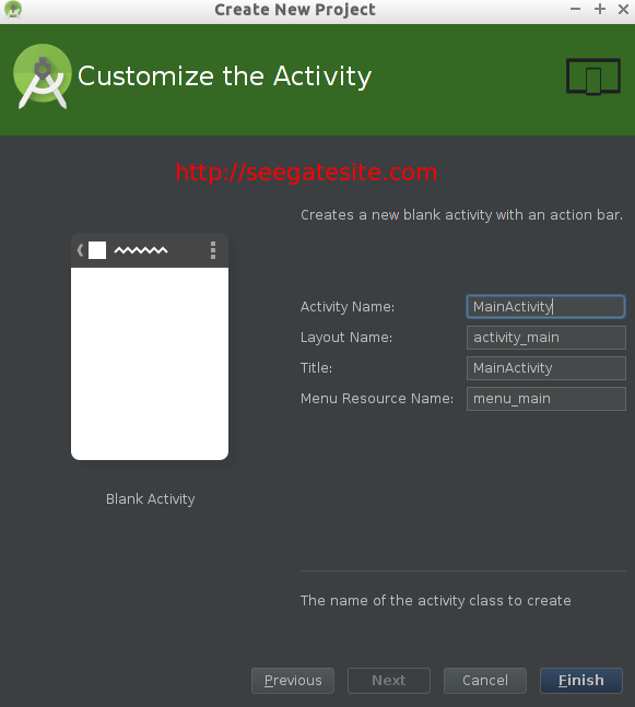 Customize Activity New Project Introduction Android Studio For Beginner