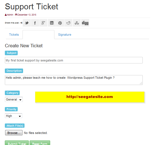 How To Use WP Support Plus Responsive Ticket System Plugin