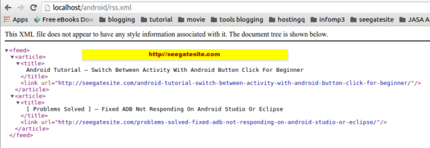 How To Create Xml Parser Android Android Tutorial