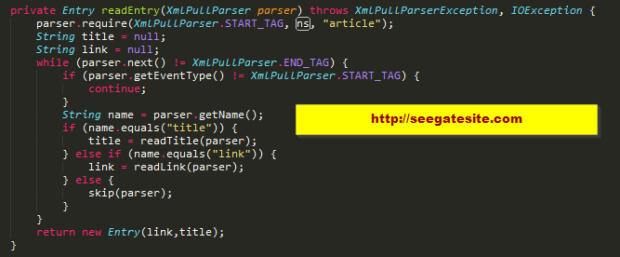 While Xml Parser To Get Xml Text How To Use Xml Parser Android For Beginner
