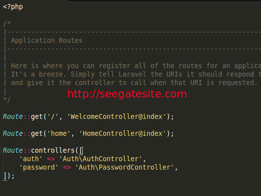Routes Default Learn To Understand Routes On Laravel 5 For Beginners