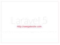 Step By Step Installation Laravel 5 On Ubuntu For Beginners