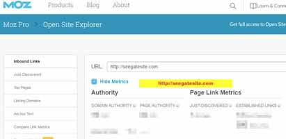 Open Site Explorer Link Research & Backlink Checker Moz