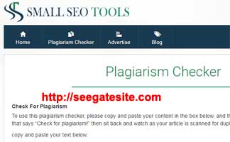Smallseotools Check Plagiarism 12 Free Seo Tools Online
