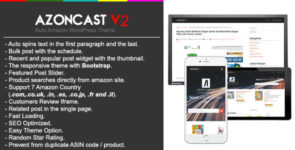 Azoncast V2 Best Auto Amazon Wordpress Theme