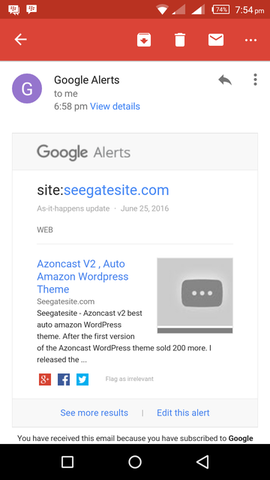 Easy Way Get Google Alerts Best Results