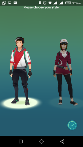 Choose Character Easily Download And Install Pokemon Go On Android In Unregistered Country