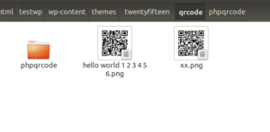 Result How To Create QR CODE Image After Published New Article Wordpress