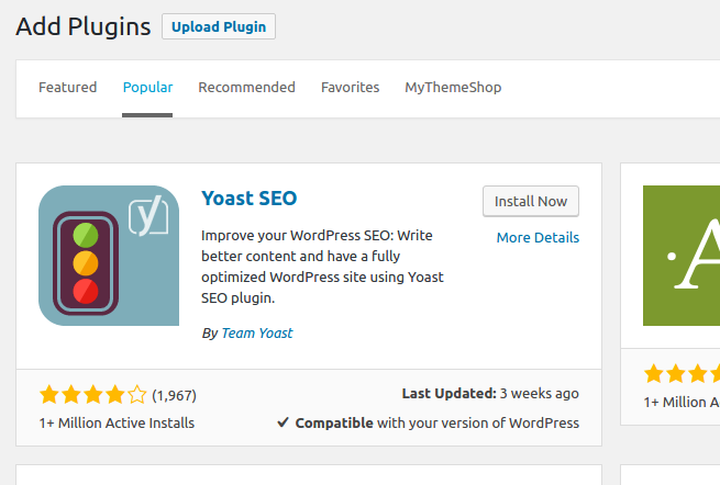 Install Seo By Yoast Plugin And How To Configure It