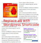 How To Create ShortCode To Insert Ad In The Post WordPress