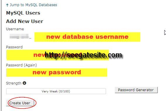 New Mysql Username And Password How To Moved WordPress Site To New Domain Name