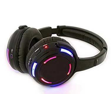 Silent Party Headphones 915MHZ 3 Channels