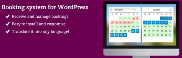 WP Booking System Online WordPress Booking Plugin Min