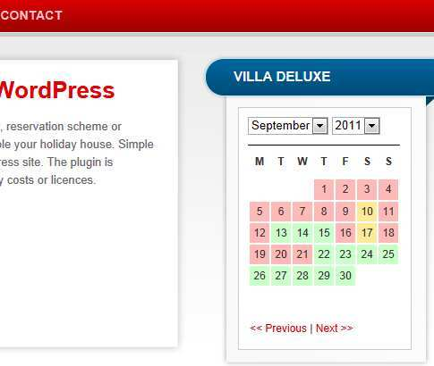 WP Simple Booking Calendar WordPress Booking Plugin Min