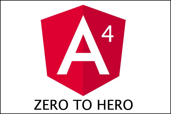 tutorial angular 4 for beginner from zero to hero
