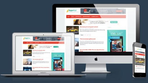 Superfast WordPress Theme To Speed Up Loading Blog