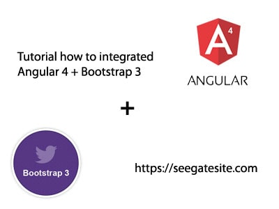 How To Integrated Angular 4 And Bootstrap 3 Tutorial Min