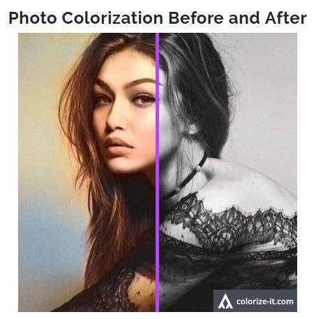 How To Coloring Image From Black And White Image With An Easy Way