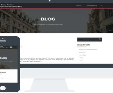 Free Wordpress Responsive Theme For Blogging Min