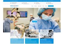 Medical Circle Free Responsive Wordpress Theme For Bussiness
