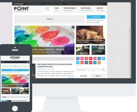The Point WordPress Responsive Theme Min