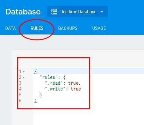 Change Rules Authentication For Database In Firebase Real Time Database Beginners Min