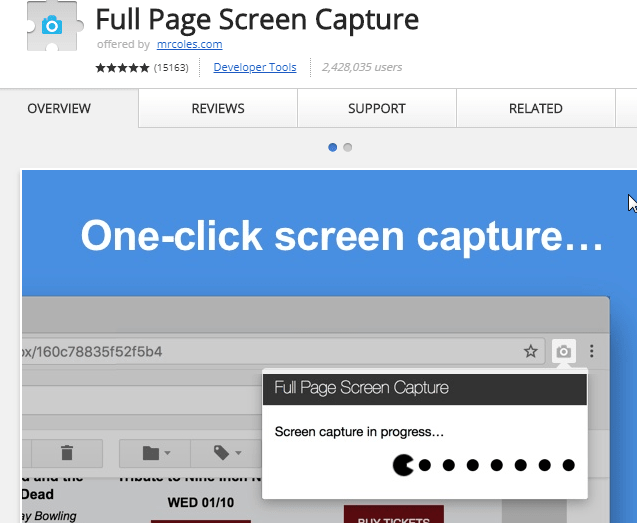 Full Page Screen Capture best screen shot tool for bloggers min
