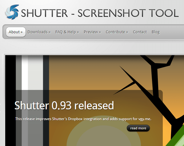 Shutter Best Screen Capture Tools For Linux Ubuntu Min