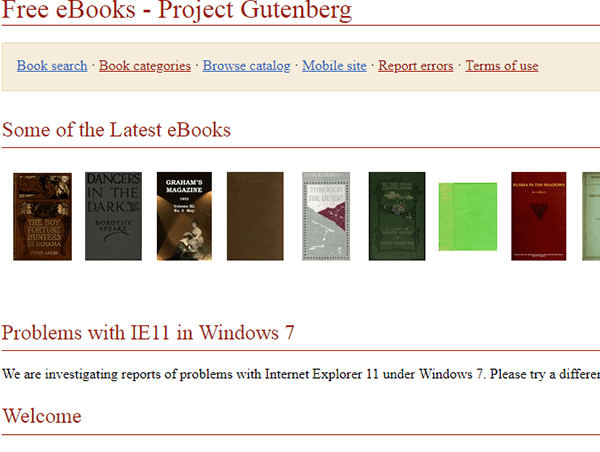 Gutenberg Website To Download Ebook Min