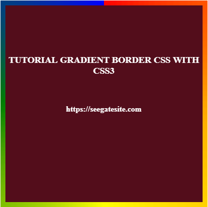 Tutorial Gradient Border Css With Example