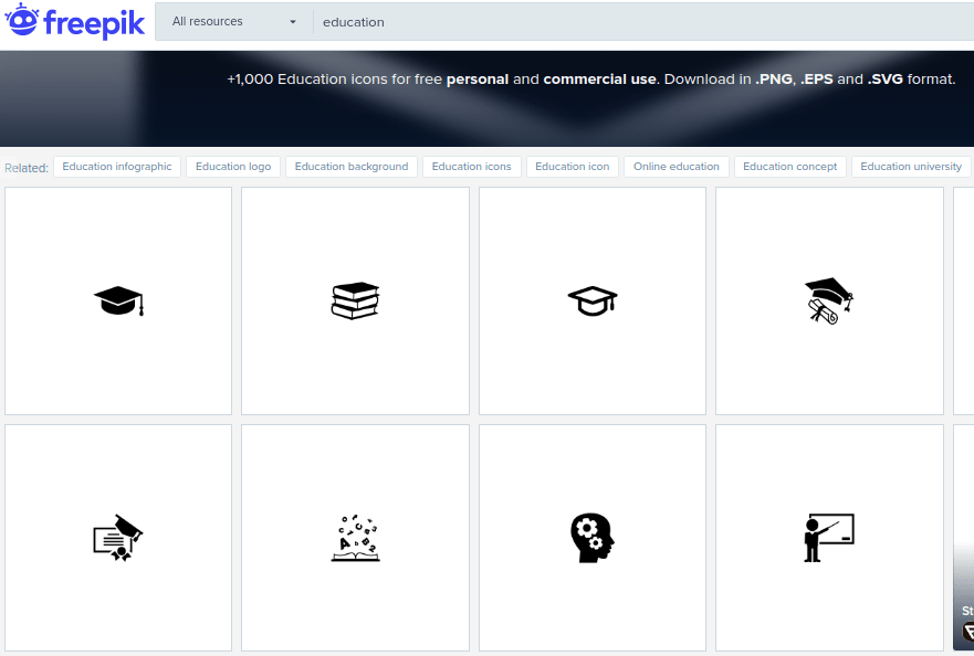 Freepik Education Vector Icons Min