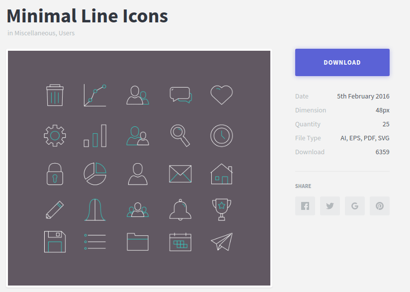 Minimal Line Education Icon Min