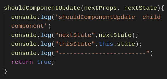 Shouldcomponentupdate Method Returns